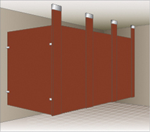 Ceiling Hung Mounting Style